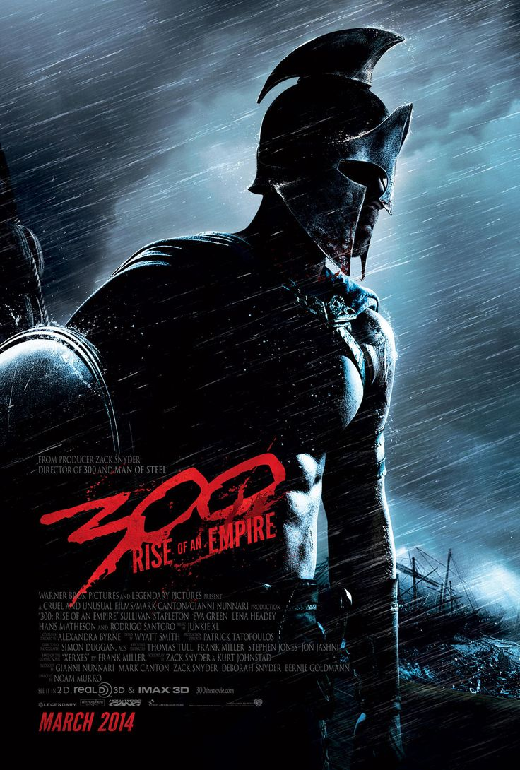 300: Rise of an Empire Movie... and the awesomeness continues... hope it's as good!