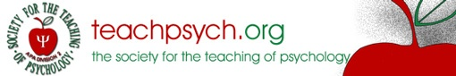 Teaching of Psychology (APA Div 2) -- Lots of resources