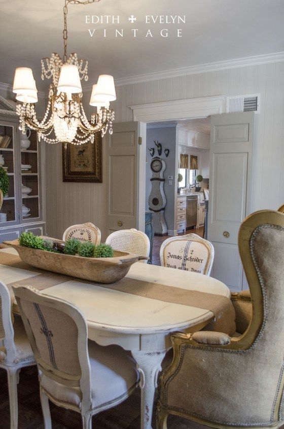 Edith and Evelyn dining room makeover