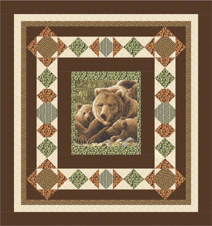 Easy panel quilt pattern for the man in your life.   Visiting Northwoods Quilt Pattern BS2-446 by Rose Cottage Quilting - Barb Sackel.  Check out more of our quilt patterns. https://www.pinterest.com/quiltwomancom/quilts/  Subscribe to our mailing list for updates on new patterns and sales! http://visitor.constantcontact.com/manage/optin?v=001nInsvTYVCuDEFMt6NnF5AZm5OdNtzij2ua4k-qgFIzX6B22GyGeBWSrTG2Of_W0RDlB-QaVpNqTrhbz9y39jbLrD2dlEPkoHf_P3E6E5nBNVQNAEUs-xVA%3D%3D