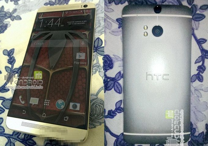 HTC One successor M8 some new live photos leaked