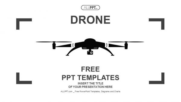 Free Minimalist Surveillance Drone Powerpoint Template People Use Drones Often These Days For Good Reason T Powerpoint Design Powerpoint Templates Powerpoint