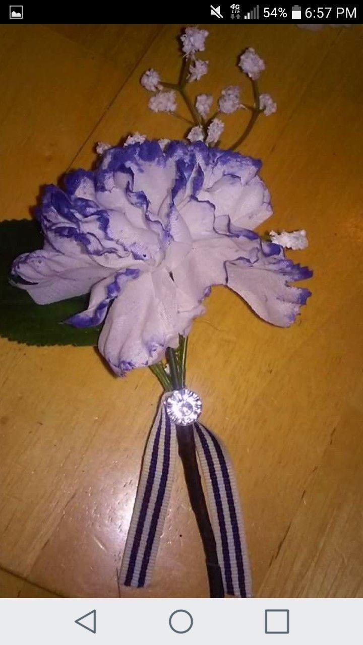 7 Best My Silk Flower Boutineer Creations Images On Pinterest Silk