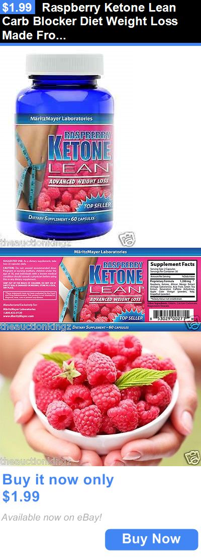 Weight Loss: Raspberry Ketone Lean Carb Blocker Diet Weight Loss Made From Fresh Raspberrys BUY IT NOW ONLY: $1.99