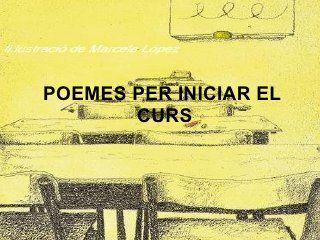 Poemes per iniciar el curs