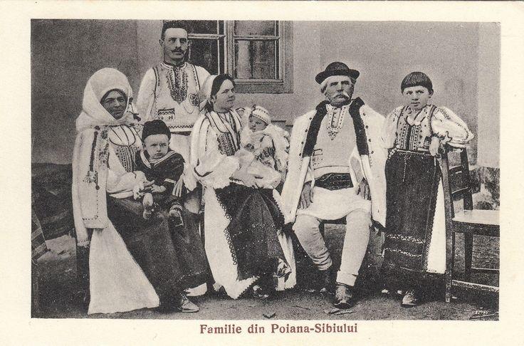 Rumänien Poiana Sibiu Bauern Kostüme Romania Peasant Traditional Costume