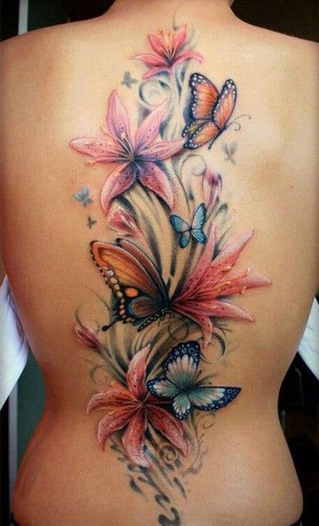 Back Tattoos for Women - Ideas and Designs for Girls
