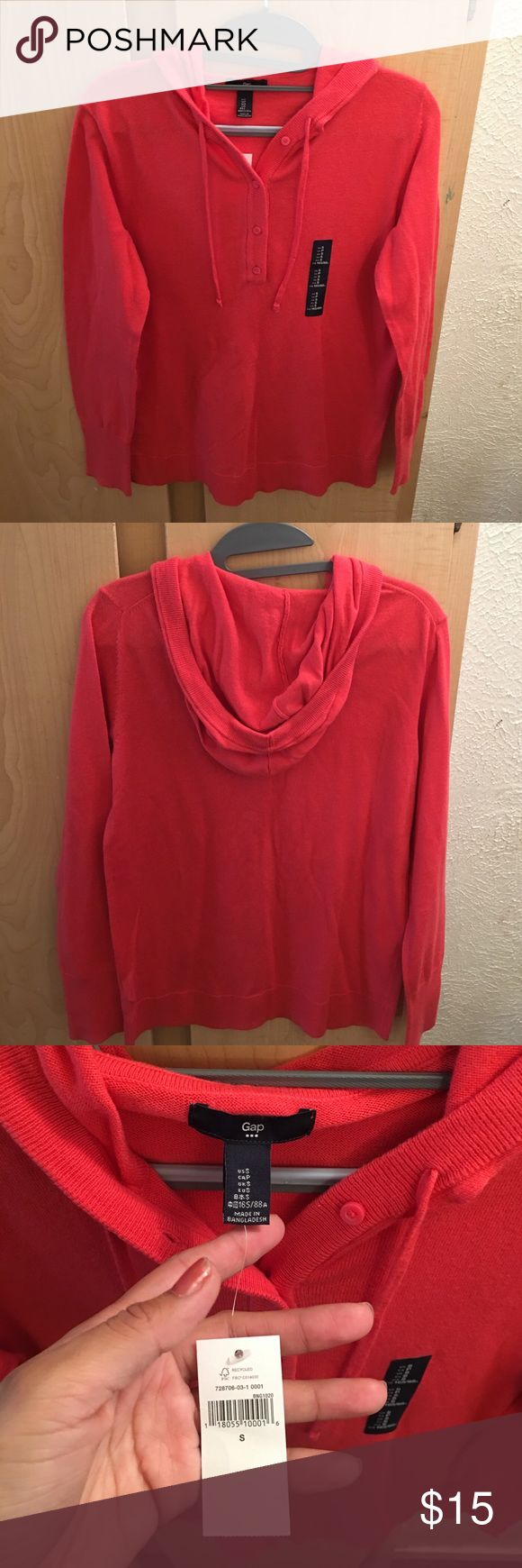 Gap sweater size small new orange color Gap sweater size small orange color new GAP Sweaters