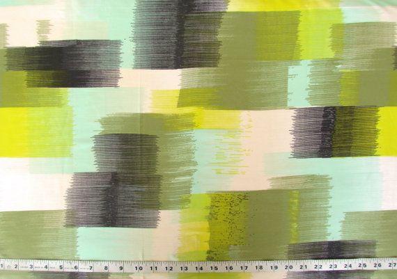 Abstract Print Poly Crepe Fabric PCR050 1 yard by pallavik