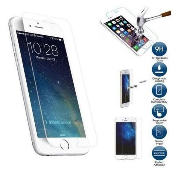 [3-Pack] Tempered Glass Screen Protector for Apple iPhone 6,6S, 7, and 8