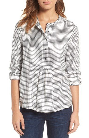 Madewell Market Popover Shirt available at #Nordstrom