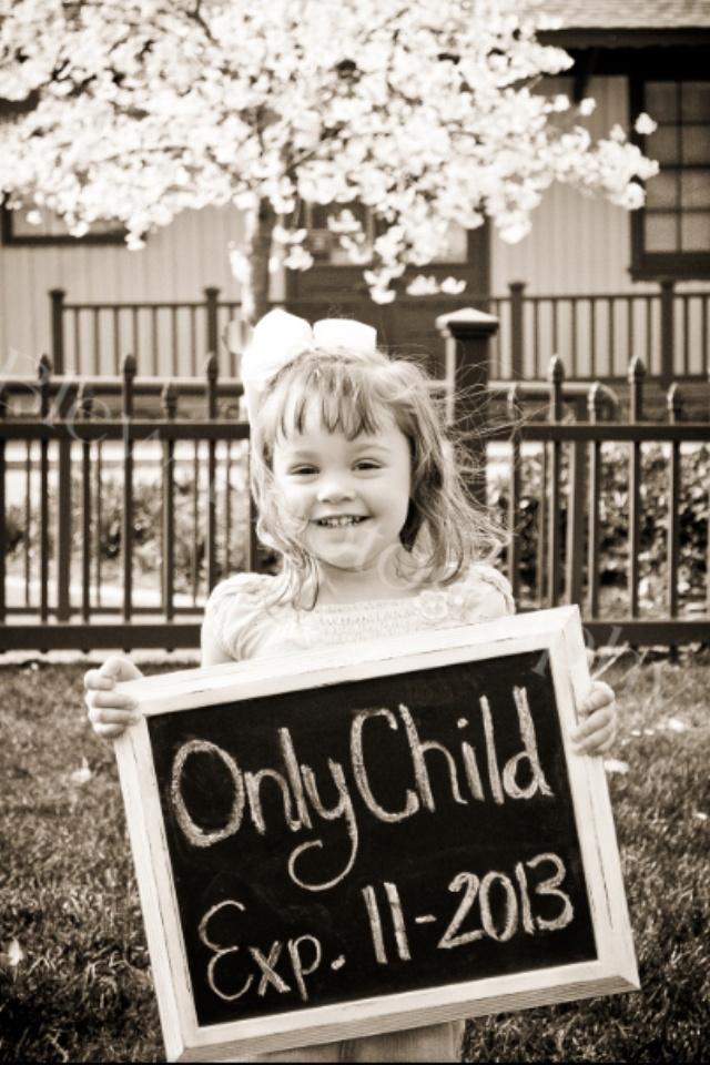 Baby #2 announcement idea