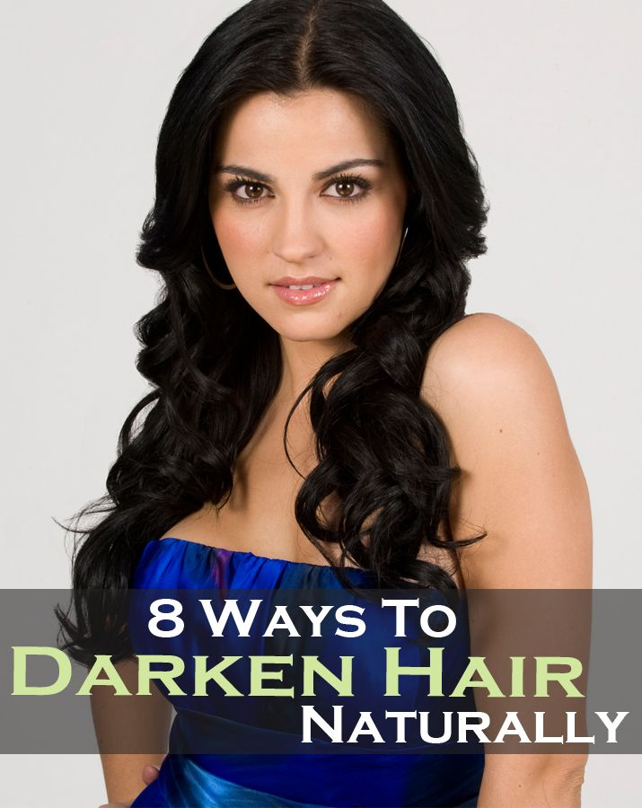 If you want to darken your hair color naturally, without chemicals we have some hacks. Here they are: