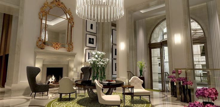 this is a photo of the beautiful lobby of the corinthia. Black Bedroom Furniture Sets. Home Design Ideas