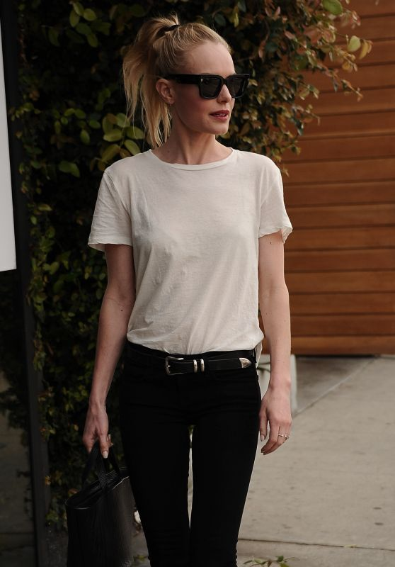 Kate Bosworth Street Style - Out on Melrose in West Hollywood, March 2016