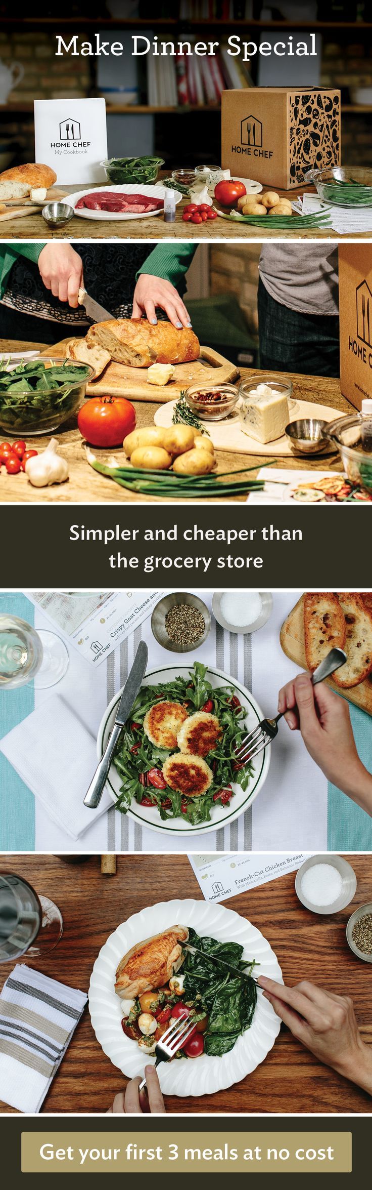 Blue apron vs grocery shopping - Skip The Grocery Store And Meal Planning Headaches And Make Amazing Home Cooked Meals Effortlessly