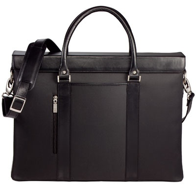 "Alicia Klein ""Hollywood"" Canyon Leather Laptop Tote. Whether you use it for business or pleasure you will be in style."