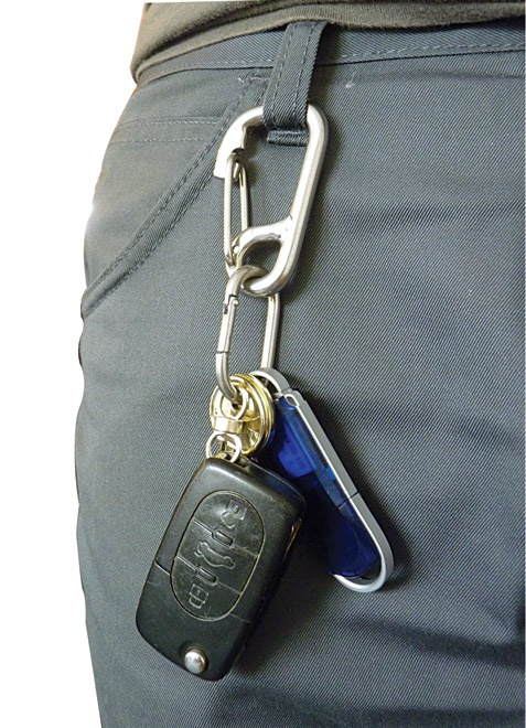 ShackleSet... let us organise your key-ring for you.  Strong and reliable, just like us ;) £6.50