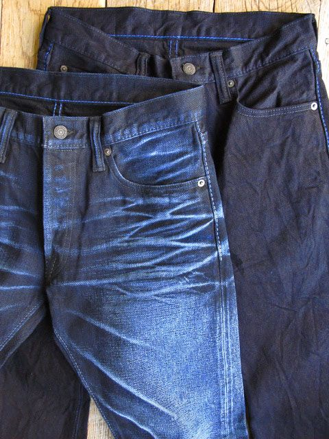 POP-UP DENIM -TAPERED SLIM « pure blue japan