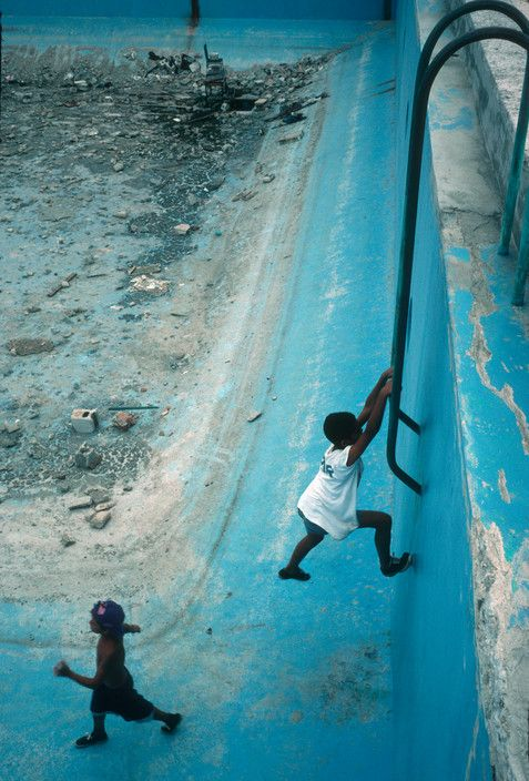 Unused Sports Center. Havana, Cuba 2000