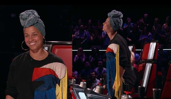 "Alicia Keys Changed ""The Voice"" With This One Move During Blind Auditions"