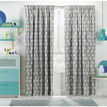 Koo Raffe Block Out Pencil Pleat Curtains Taupe
