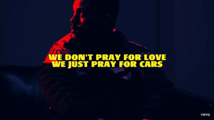 Starboy // The Weeknd lyrics