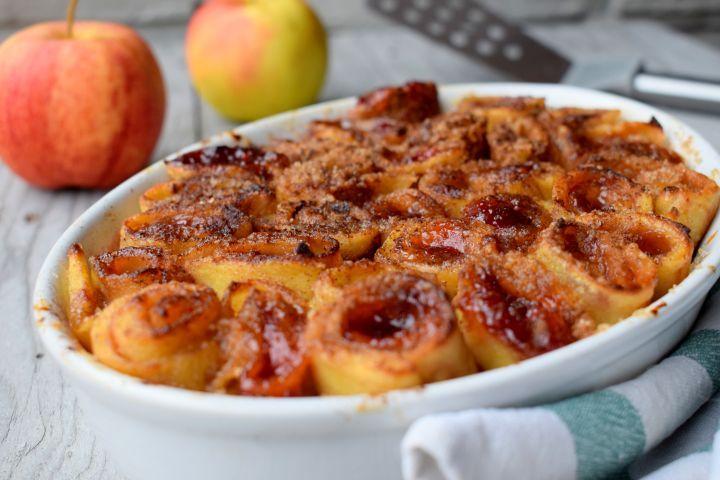 jablkové palacinky