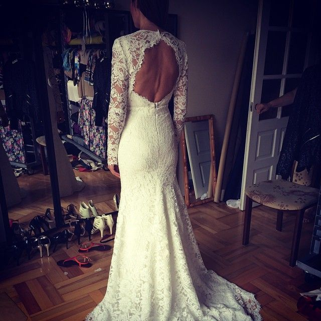 Ewa, lace wedding dress