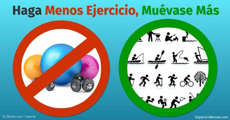 El ejercicio es importantes para una salud y buen estado óptimo, pero el movimiento podría incluso ser más importante.  http://articulos.mercola.com/sitios/articulos/archivo/2016/03/27/recupere-la-salud-con-el-movimiento-nutricional.aspx