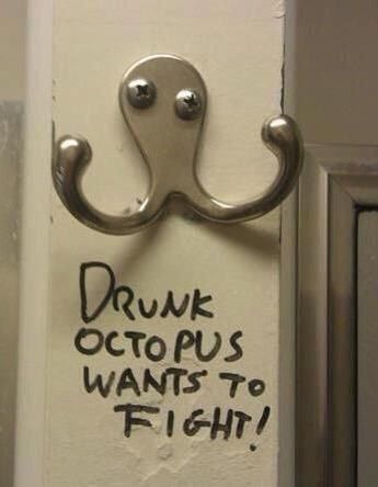 This octopus.   31 Photos That You'll Never Be Able To Unsee