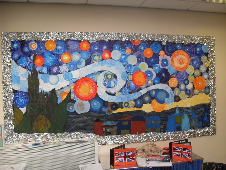 Van Gogh Bulletin Board-how cool!!