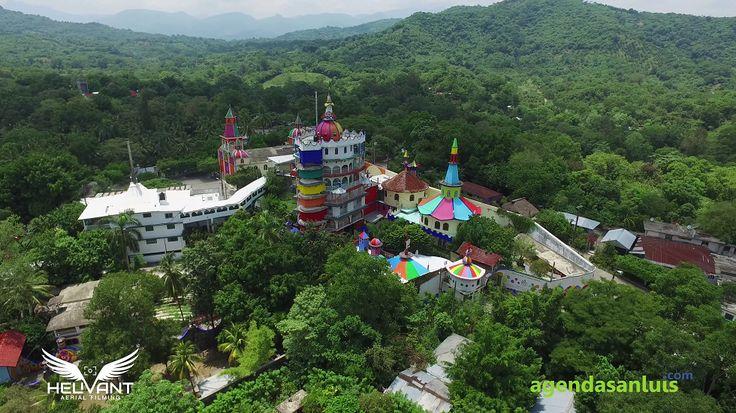 Video: El Castillo de la Salud de Beto Ramón desde le cielo