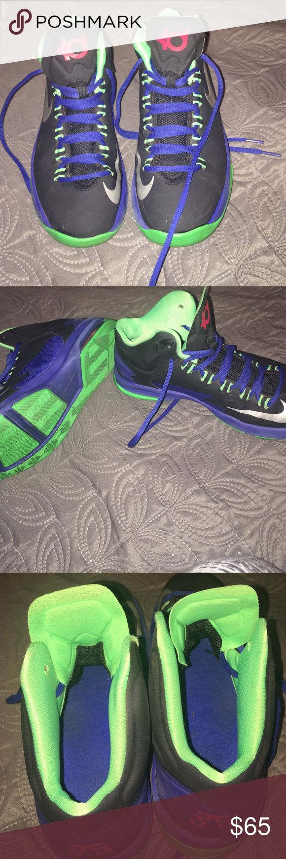 Nike KD sneakers size: 6 in boys, Good condition, barley worn. Nike Shoes Sneakers
