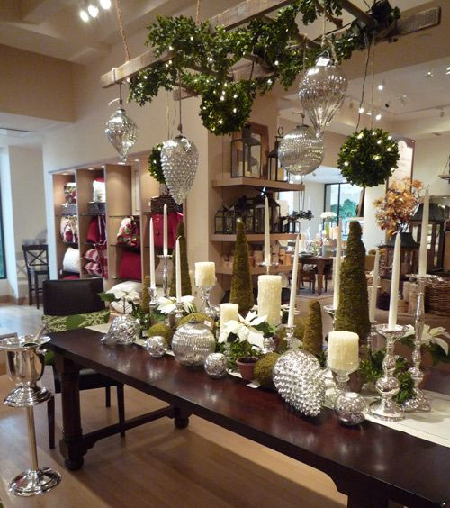 Holiday Table Setting Return Of The Taper Candle By