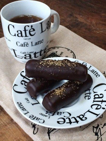 Raw Chocolate Enrobed Cinnamon Cookie Sticks (gluten-free / dairy-free / soy-free)