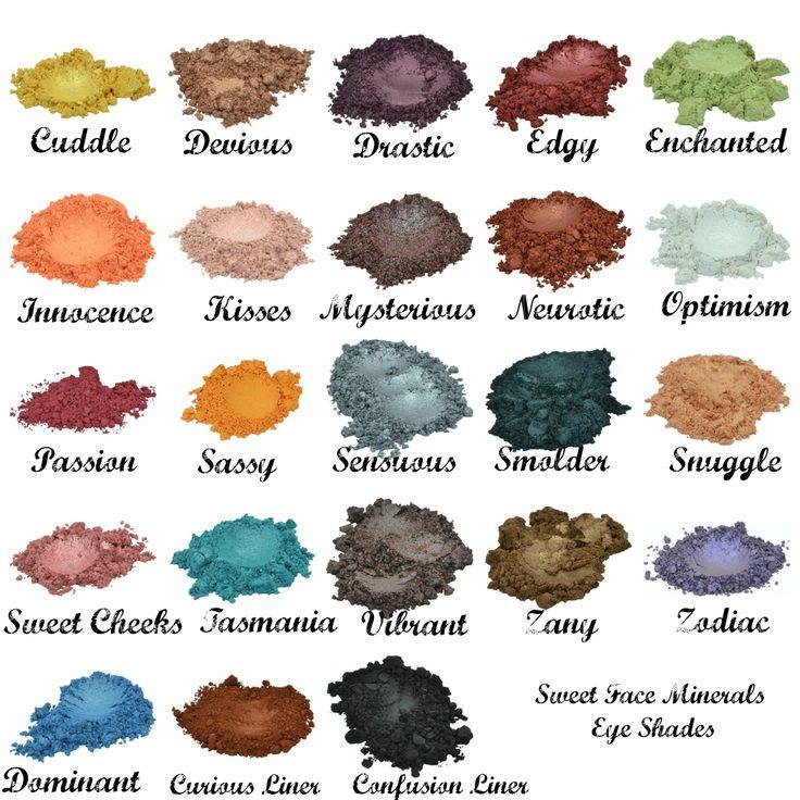 TASMANIA Eye Shadow 5g Jar Mineral Makeup Bare Skin Sheer