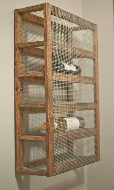 17 best ideas about homemade wine racks on pinterest
