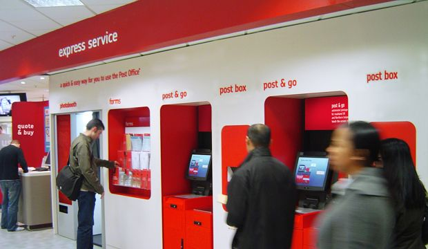 29 branches across East Anglia to offer first full Post Office current accounts since sale of Girobank; scheme to be extended across network next year