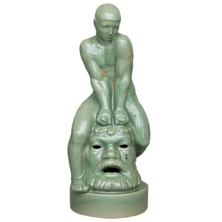 Foutain Figure by Arno Malinowski for Royal Copenhagen | 1stdibs.com