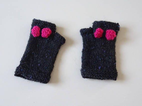 Mitaines en laine pour fille gants filles accessoires hiver