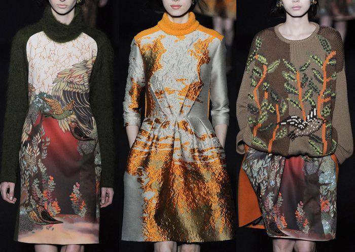Milan Fashion Week – Autumn/Winter 2014/2015 – Print Highlights – Part 1 catwalks