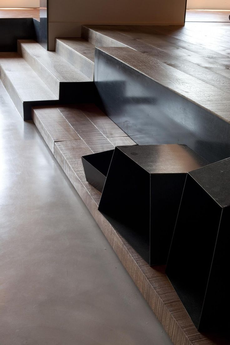 Suspended table by berstein architects - Communicating Vessels By Tc Interiors