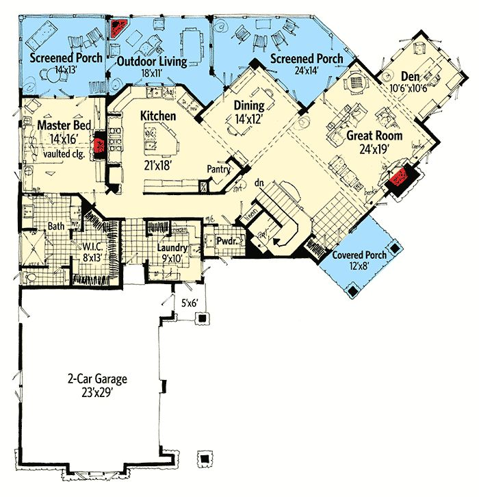 17 best ideas about mountain home plans on pinterest for Mountain vacation house plans