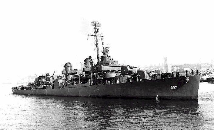 World War 2 History: Destroyer USS Johnston Attacks Battleships and Cruisers