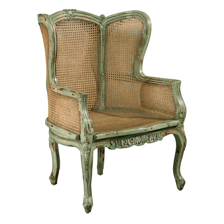 Furniture Classics 1330 Louis XV Bergere Chair  Chairs, Furniture and ...