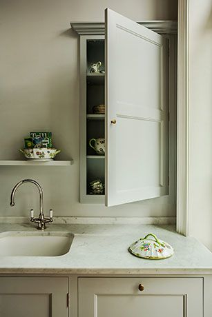 Professional Cabinetmaking - Battersea Town House 4 ~an arrangement like this is neeeaat