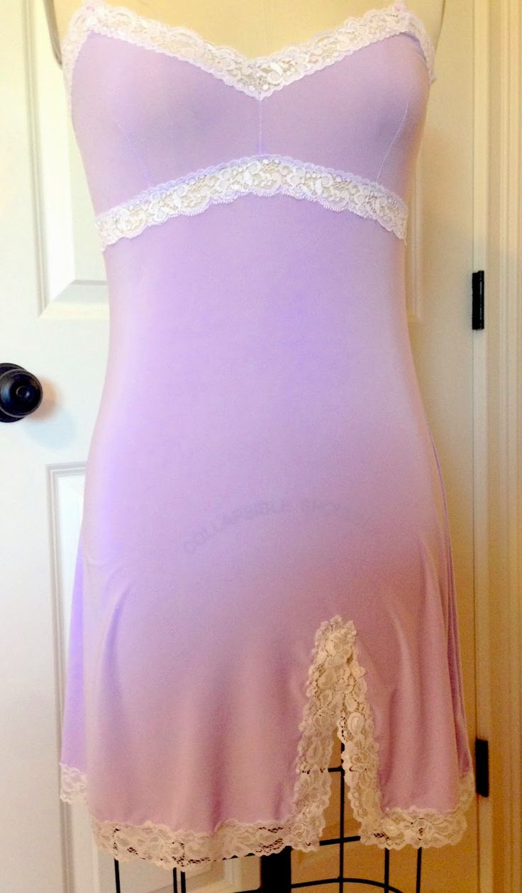 Slip Sew-Along #8: Sewing the Lace at the Hem - Gerties New Blog for Better Sewing