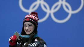 Kaetlyn Osmond won bronze in women's single skating at PyeongChang 2018! Here are some of the best photos from her...