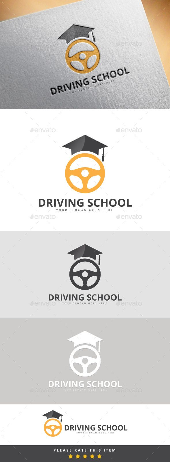 Driving School Logo                                                                                                                                                                                 More